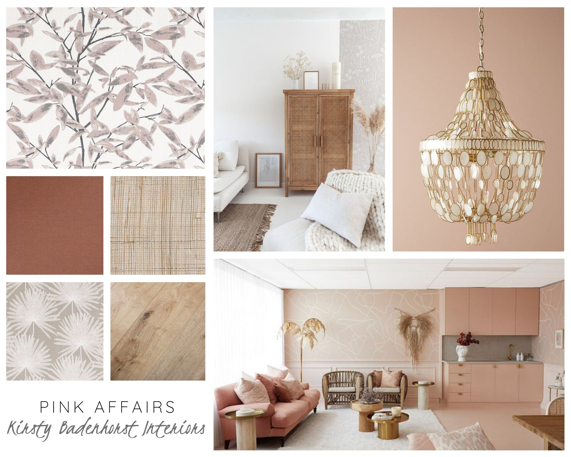 Pink Affairs - A Moodboard